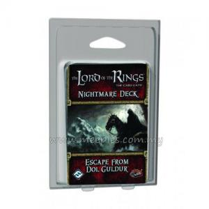 The Lord of the Rings LCG: Nightmare Deck: Escape from Dol Guldur