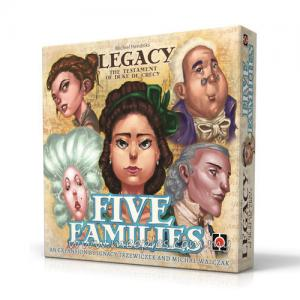 Legacy: The Testament of Duke de Crecy - Five Families